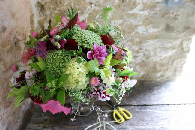 Common Farm Flowers send out over 1600 bouquets by post each year