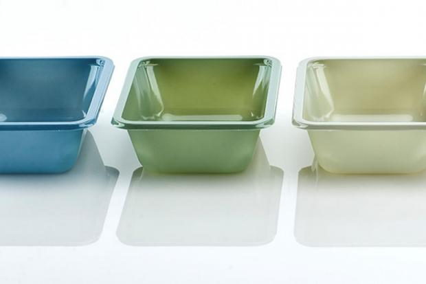 The new plastic trays. Photo: Waitrose/PA Wire