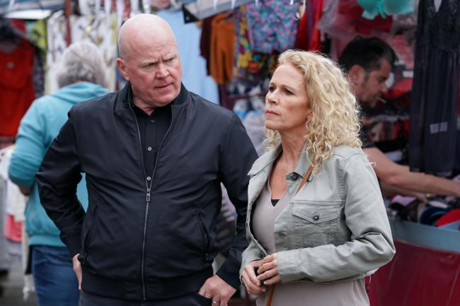 Lisa Fowler clashes with Phil Mitchell in first look at her EastEnders return