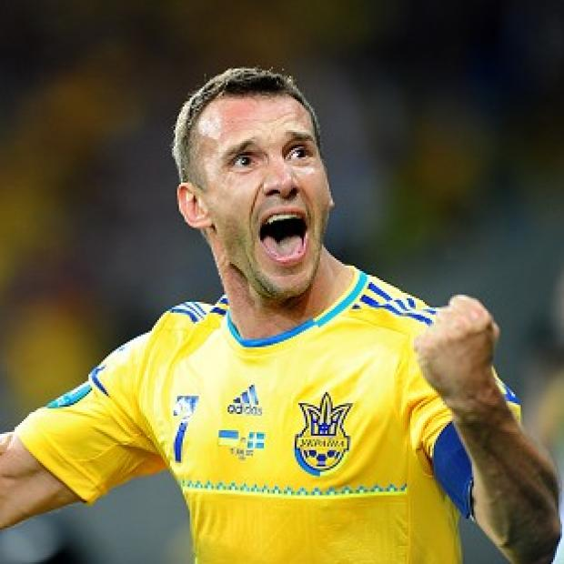 Ukraine's Andriy Shevchenko has scored two goals so far in Euro 2012