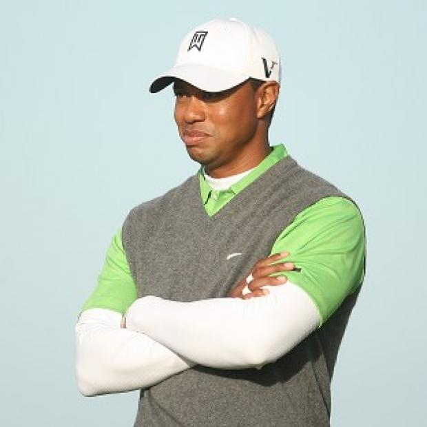 Tiger Woods made a poor start to the final round of the US Open