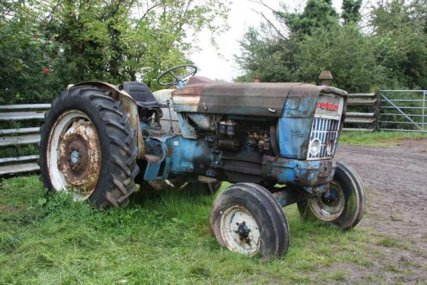 Some tractors such as this Ford 5000, it is best just to walk or possibly run away from as fast as possible and leave them to the dealers who will in all probability export them to the Far East