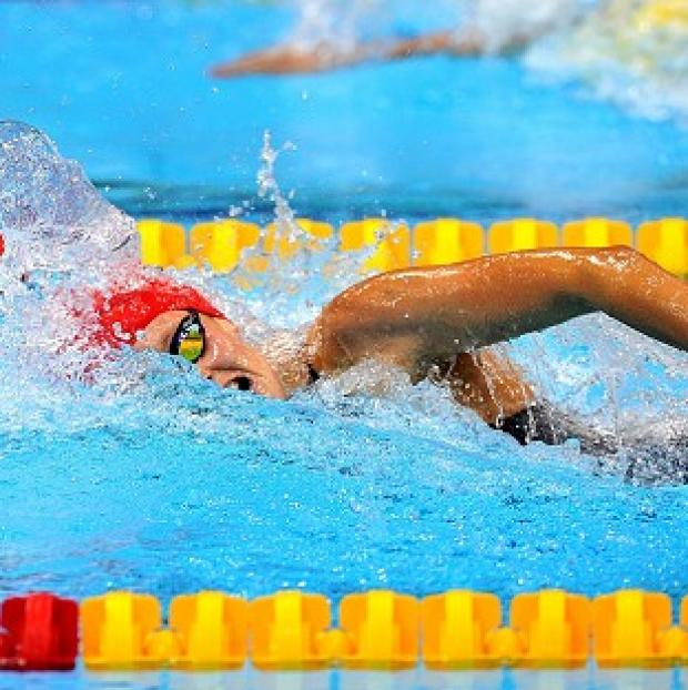 Fran Halsall qualified for the 100m freestyle semi-finals