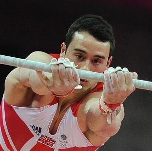 Kristian Thomas finished seventh in the men's individual gymnastics competition