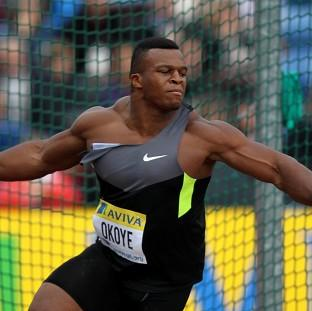 Lawrence Okoye qualified automatically for the discus final