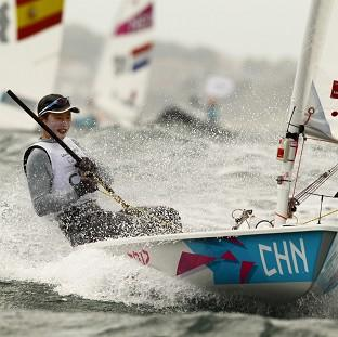 Xu Lijia has won gold in the Laser Radial class