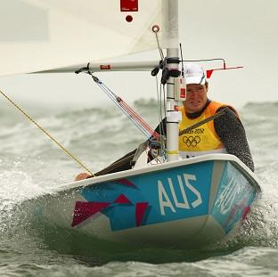 Tom Slingsby has won Australia's second gold of the London Olympics