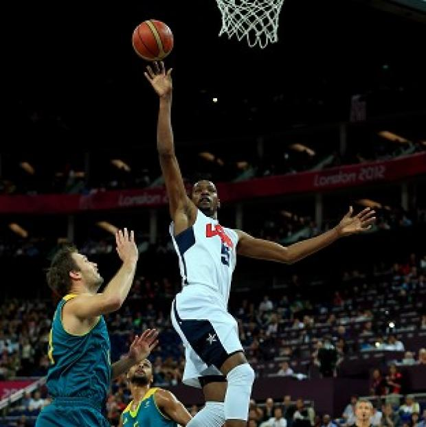 Kevin Durant led the USa to basketball gold