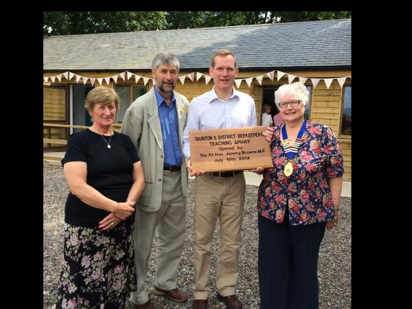 New beekeeping 'Centre of Excellence' officially opened