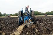 How to set a right handed plough before taking it out in the field