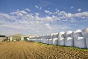 Farms can accumulate huge amounts of plastic waste