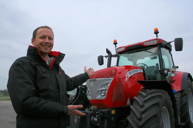 """Come and try one for yourself,"" says Mark Baker of the McCormick X7 VT Drive demonstrator he runs from his dealership at Ilchester, Somerset."