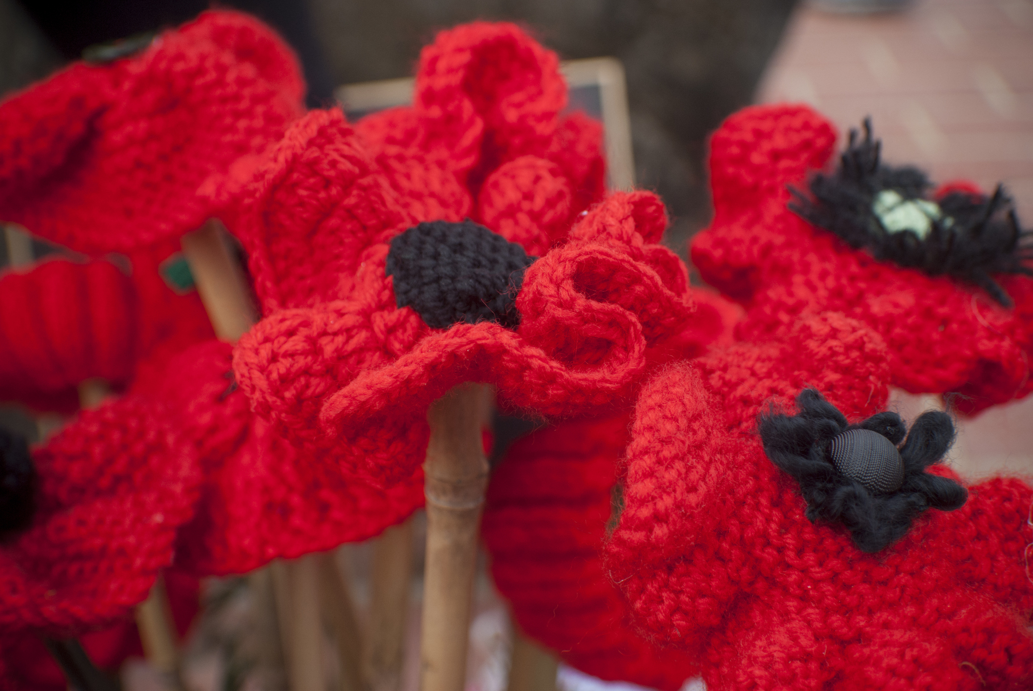 Make a poppy and contribute to a First World War memorial at the ...