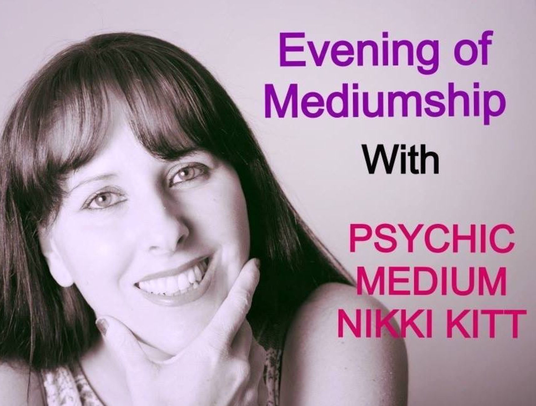 Evening of Mediumship with Nikki Kitt - Bridgwater