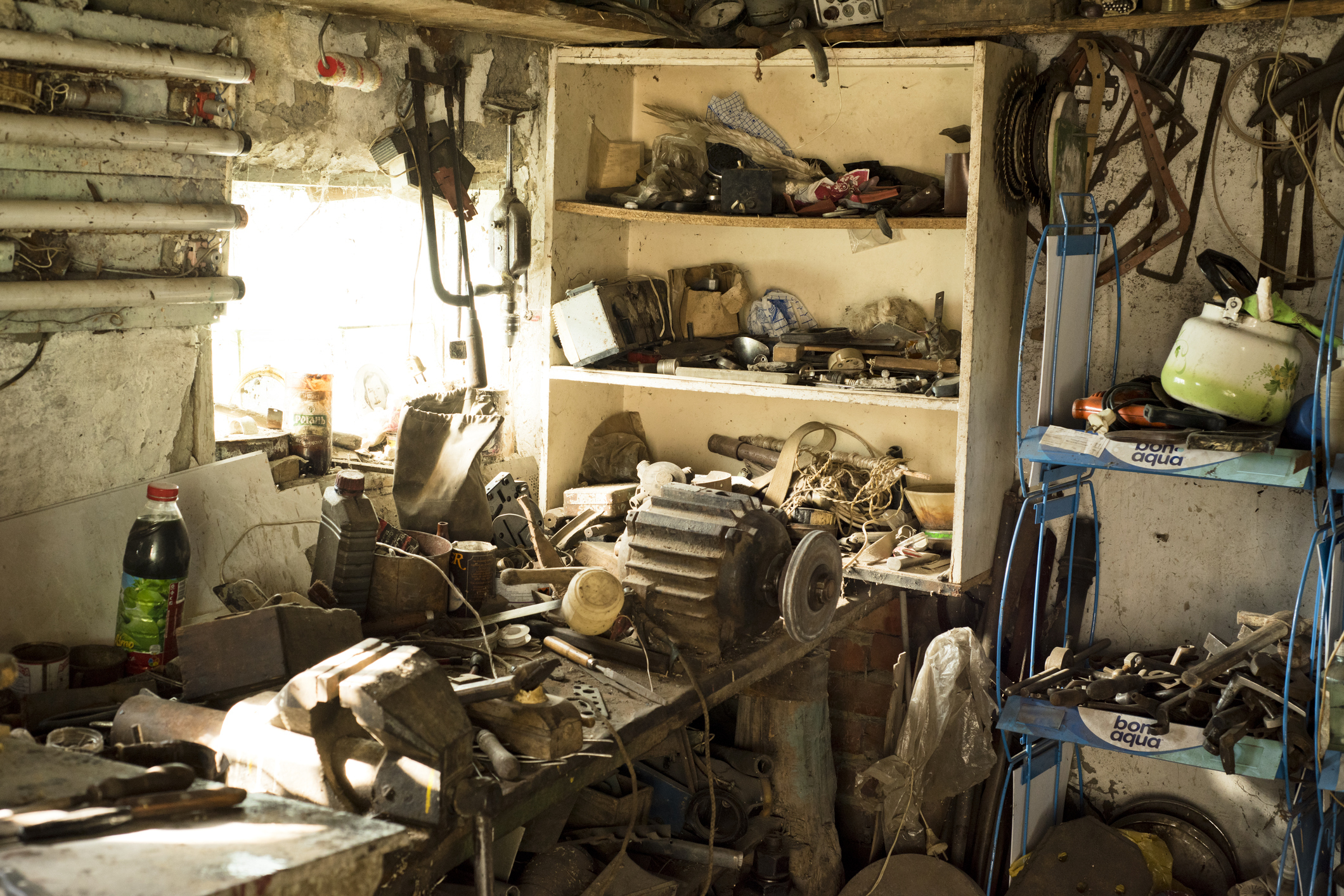 Do you need to tidy the shed?