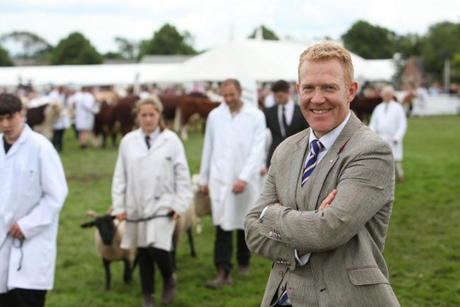 Adam Henson is the show ambassador for the Royal Three Counties Show