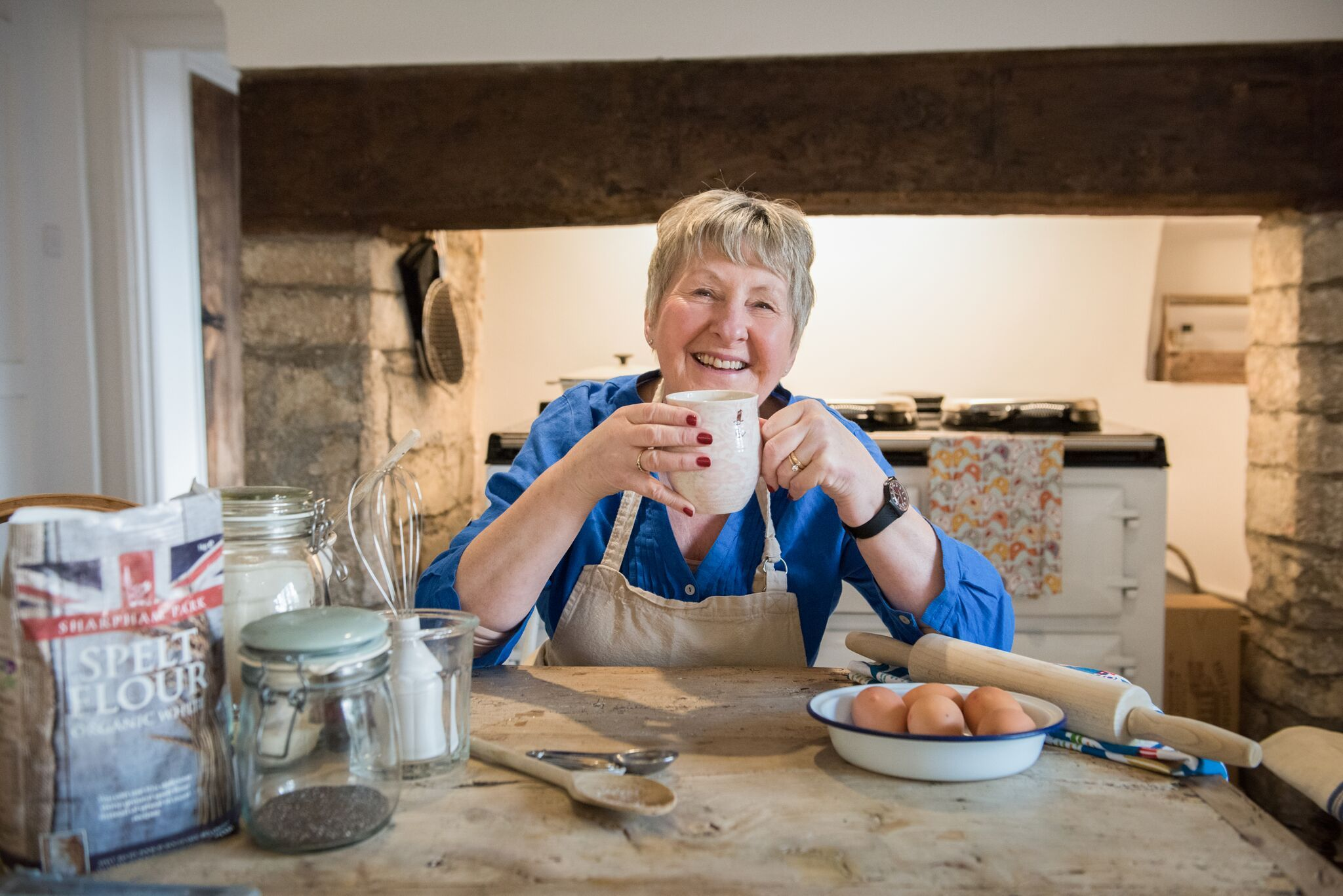 Former Great British Bake-off contestant, Val Stones, will be at Yeovil Show