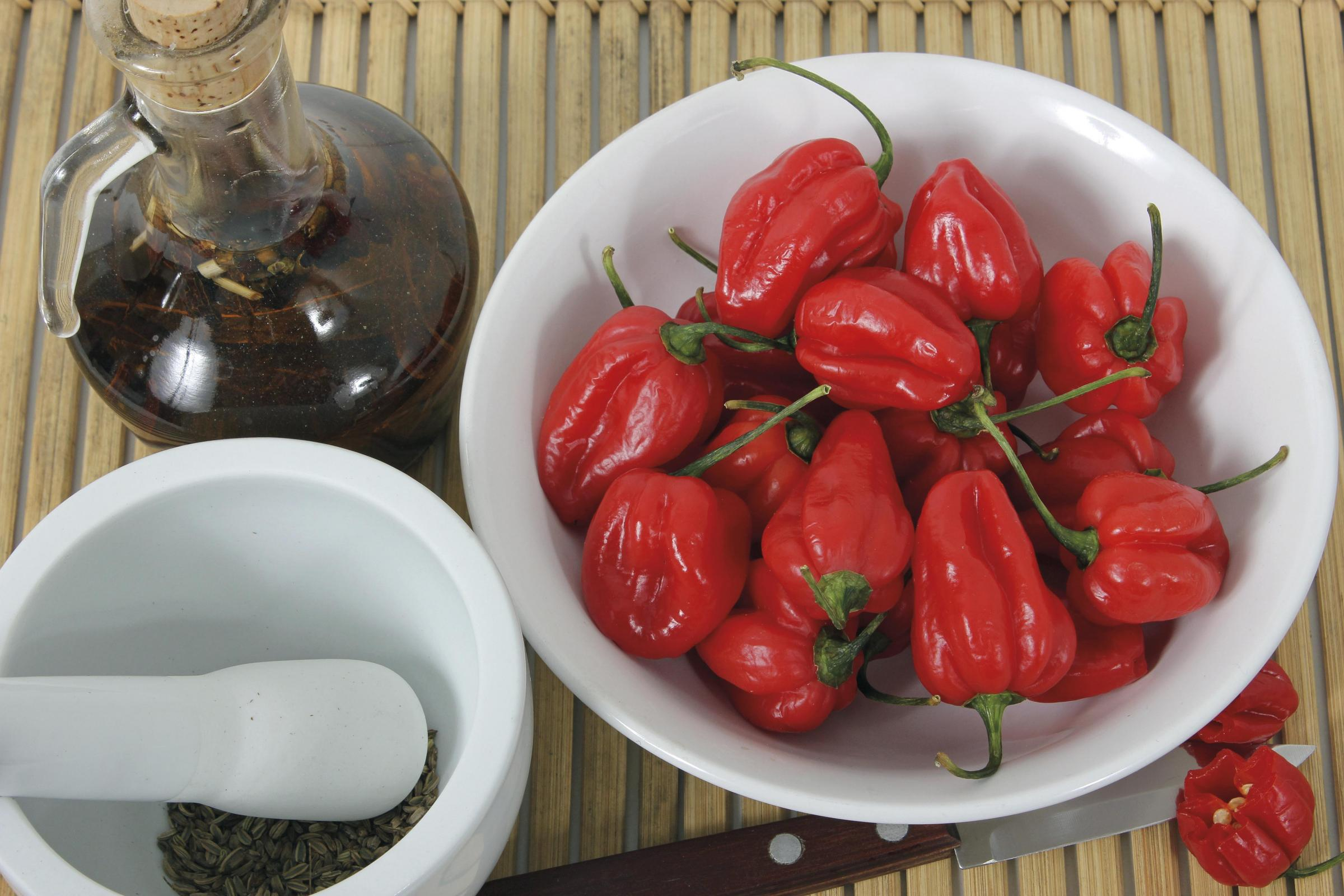 Chilli peppers can vary dramatically in heat, colour, shape and taste
