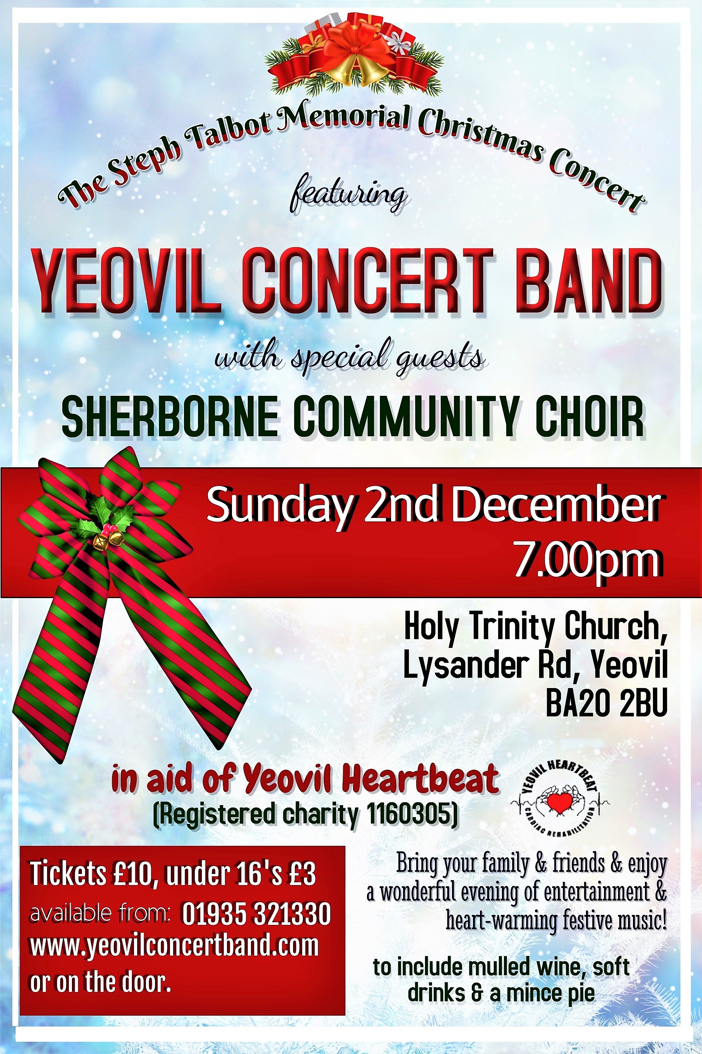 YEOVIL CONCERT BAND presents a Charity Christmas Concert