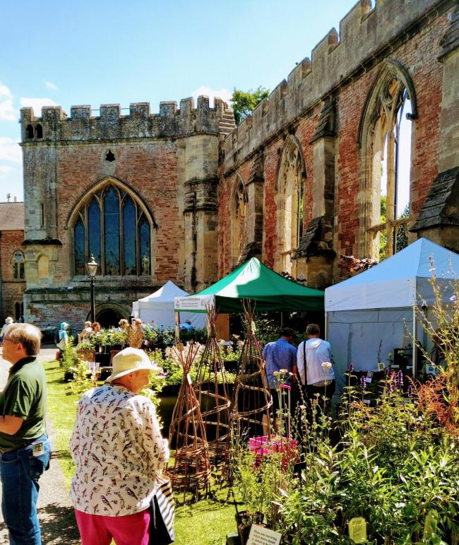 The Country Garden Festival will fill the gardens with a range of stalls