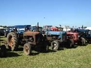 Stroud Vintage Transport & Engine Club (SVTEC) stage their Annual Show at South Cerney Airfield in Cirencester, Gloucestershire