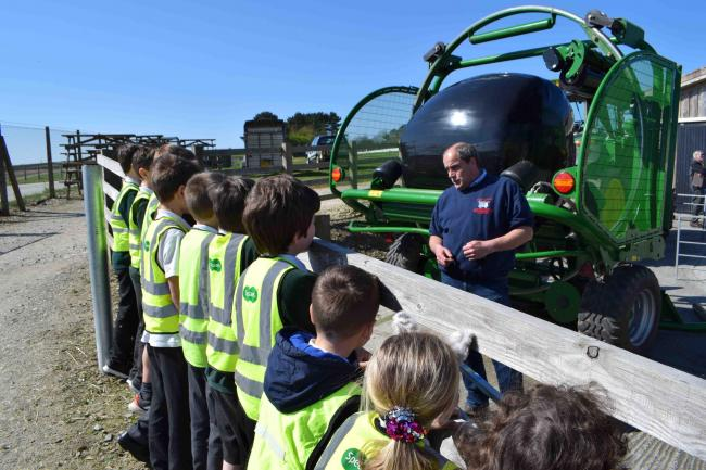 pupils from St Francis Primary School, Falmouth, was one of 32 schools across Cornwall that attended the event
