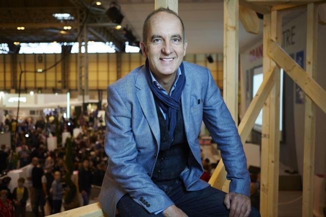 Kevin McCloud at Grand Designs Live. Image: Theo Cohen/PA