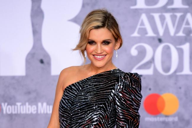 Ashley Roberts at the Brit Awards