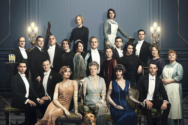 The Downton Abbey poster