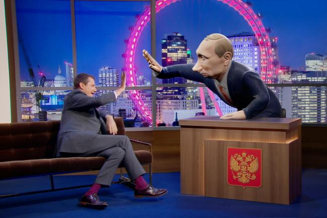 Alastair Campbell on the new chat show