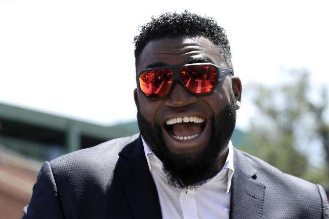 David Ortiz Shot Baseball